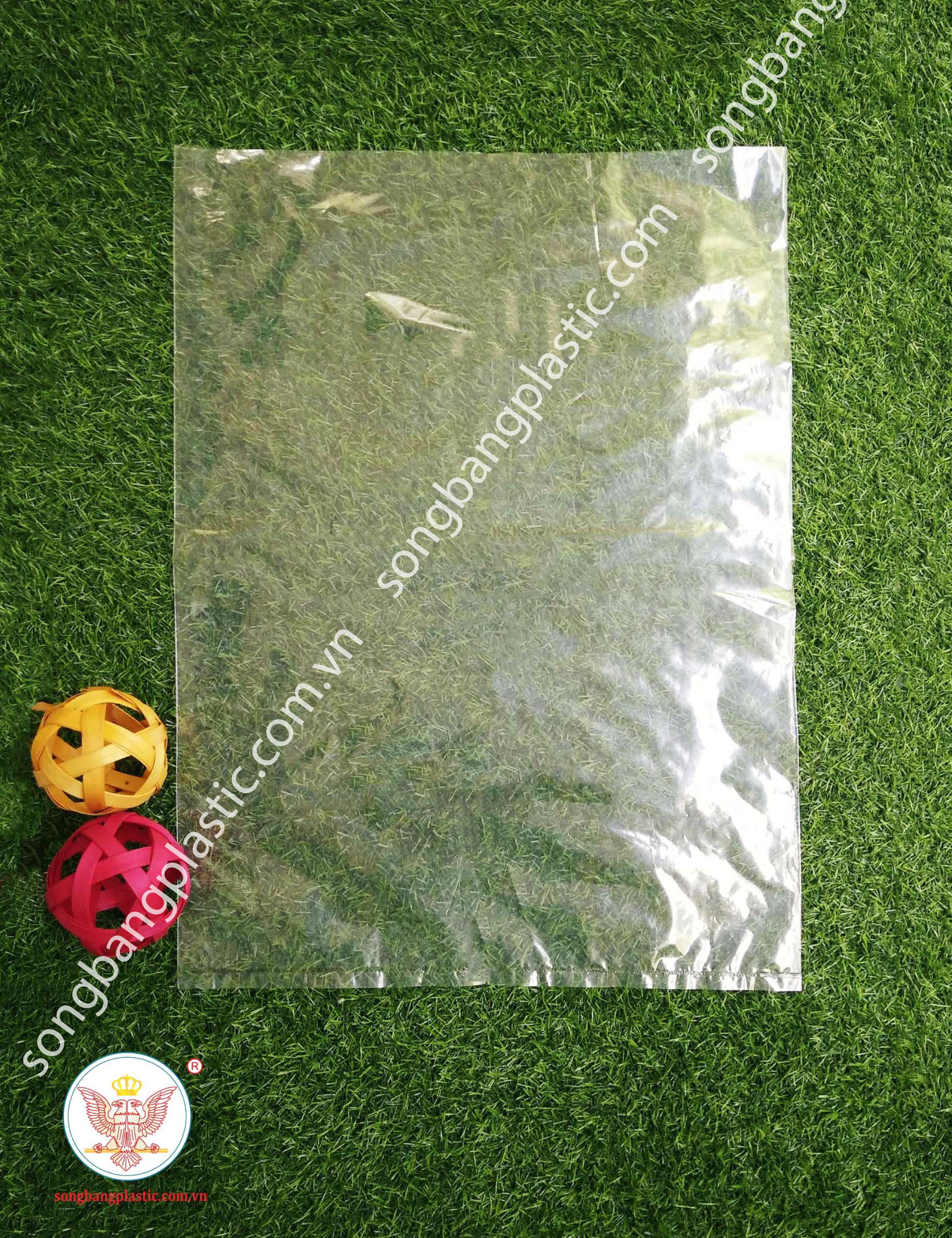 LDPE clear plastic bags